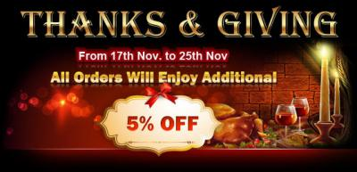 ETrade Supply Thanksgiving Day Campaign
