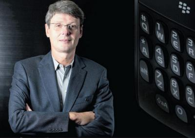 BlackBerry CEO says Samsung's smartphone security will never be 'top-notch'