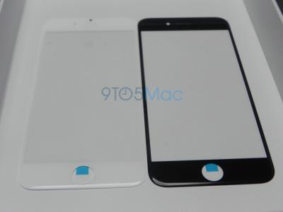 New Photos of Black and White 4.7-inch iPhone 6 Screen Glass Leaked