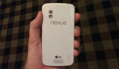 White Nexus 4 May Launch with Android 4.3
