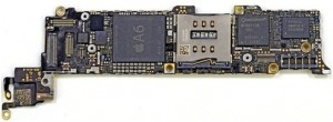 iPhone 5 mother board