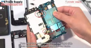 HTC Incredible 4G LTE Disassembly 8
