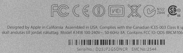 iMac Assembled in USA