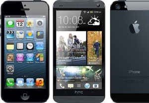 The Rumored Black HTC Handset (M7) Looks Like an iPhone 5 in Leaked Photo