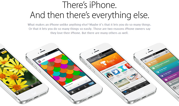 "Apple Responded to Samsung Galaxy S 4 Announcement, ""There's iPhone and then there's everything else."""
