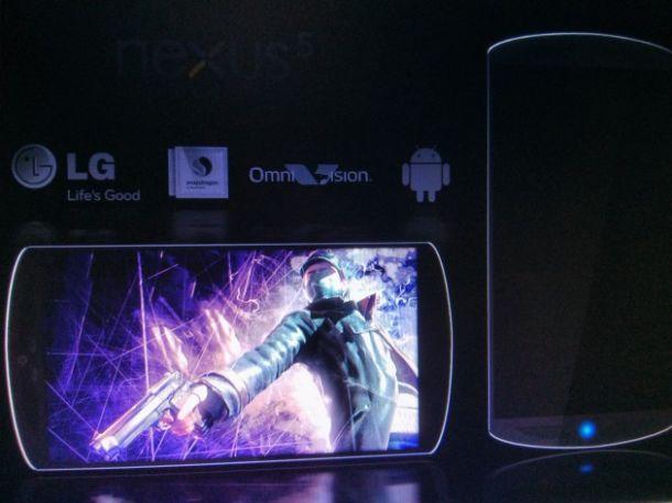 purported LG Nexus 5 image leaked