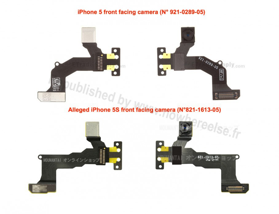 iPhone 5S Front Facing Camera Parts