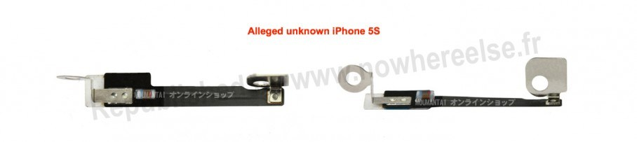 iPhone 5S Front Facing Camera parts