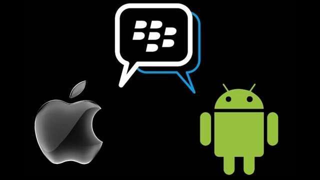 BlackBerry Messenger will be available in iOS and Android platforms