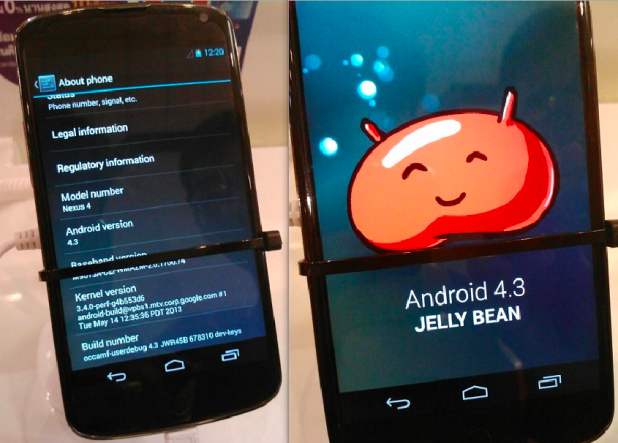 Android 4.3 is FINALLY around the corner