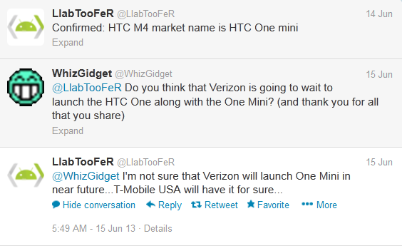 HTC One Mini coming to T-Mobile
