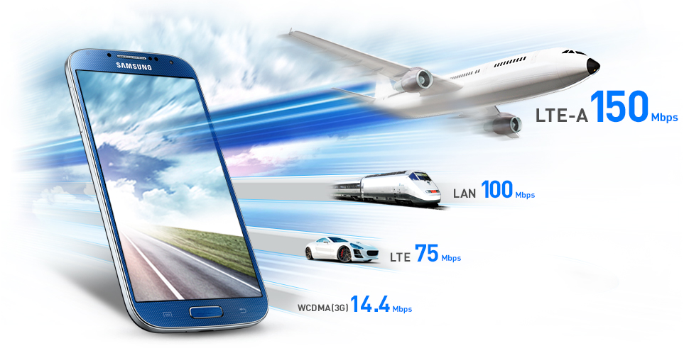 SK Telecom Launches the World's First LTE-Advanced Network With the Galaxy S4 LTE-A