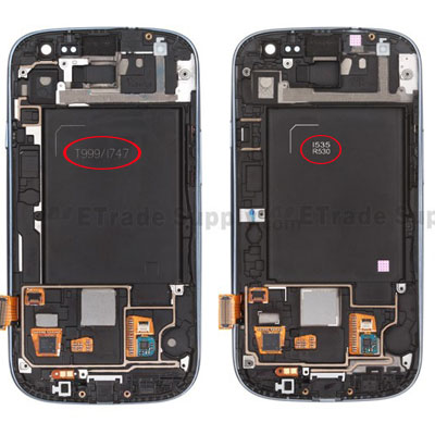 Different Samsung Galaxy S3 Model Numbers