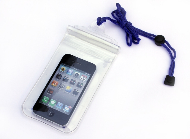 Waterproof bag for protecting your cellphone on the beach