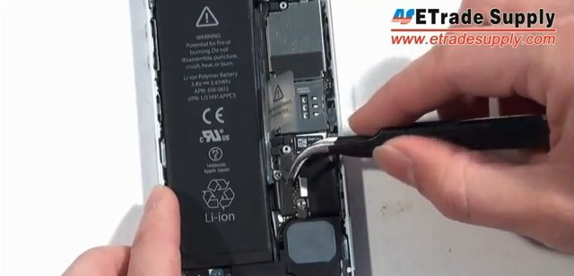 Disconnect the battery connector