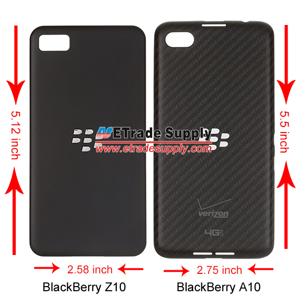 Blackberry A10 battery door