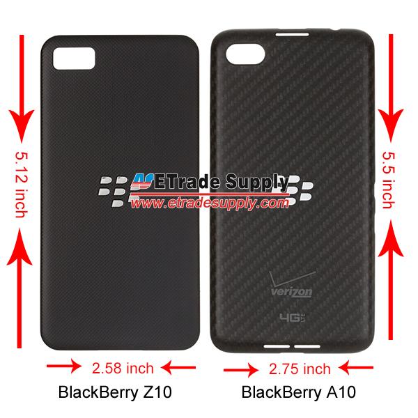 Blackberry A10 battery door