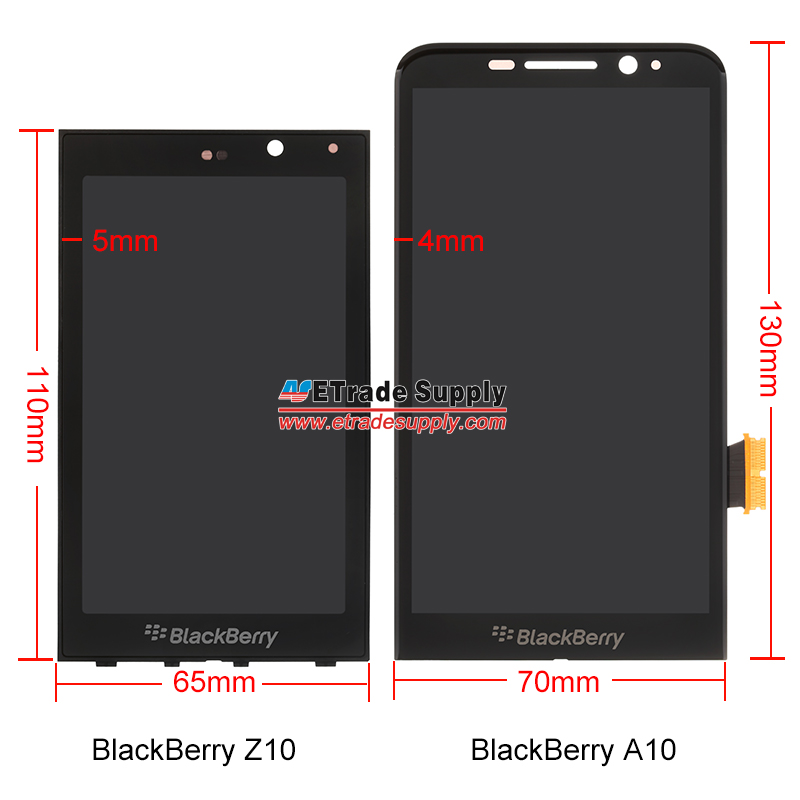A 10 lcd screen assembly compared z10