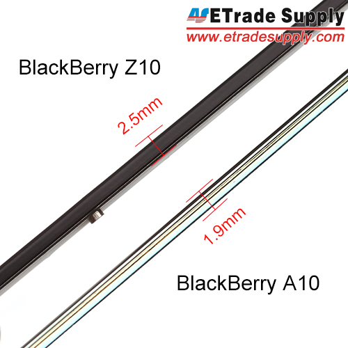 A10 lcd screen assembly compared with Z10