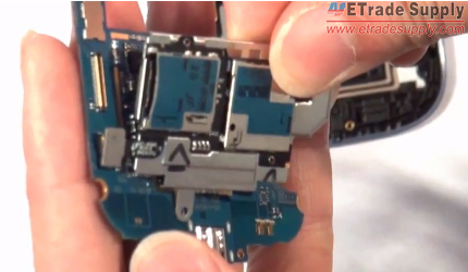 Install the SIM and SD card reader on the motherboard