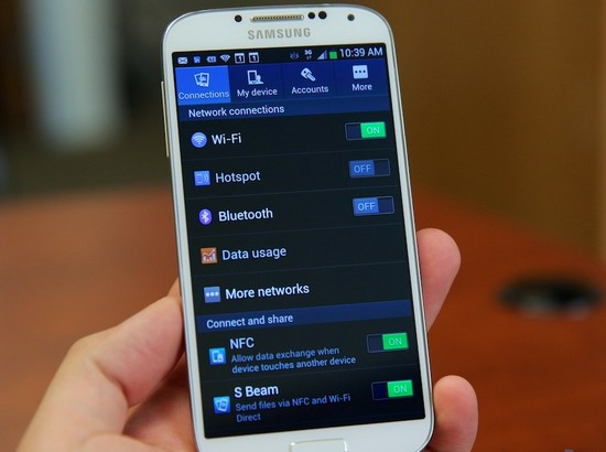 Samsung Galaxy S4 Phone Push Service Has Stopped