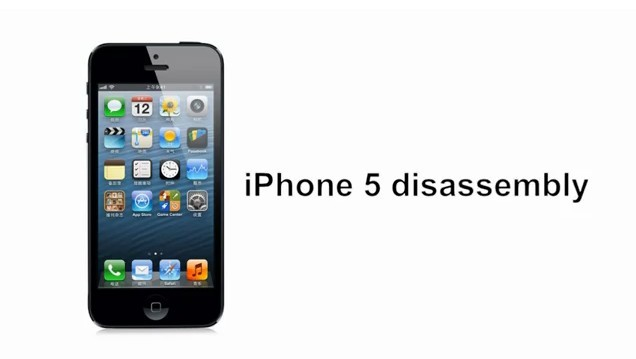 iphone 5 disassembly