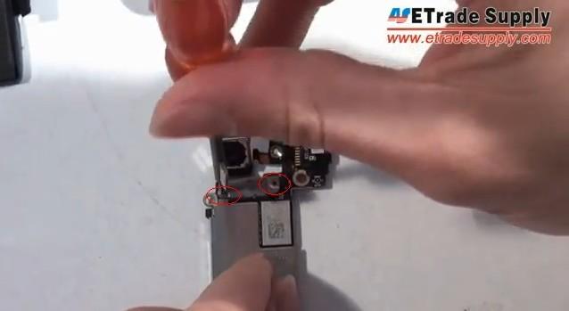 remove 2 screws