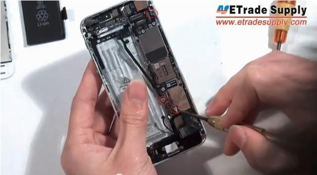 remove 3 screws2