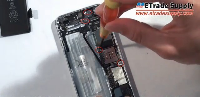 remove 4 screws