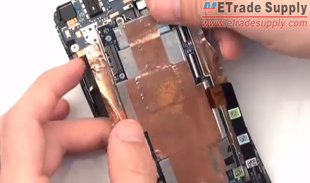 take out the motherboard carefully