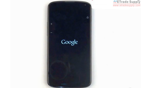 Turn on the Nexus 4 to make sure the device works as normal