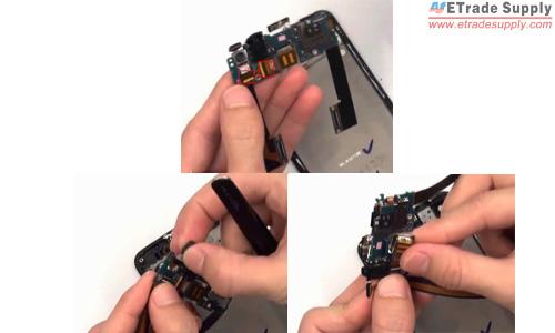 remove the front facing camera and rear facing camera