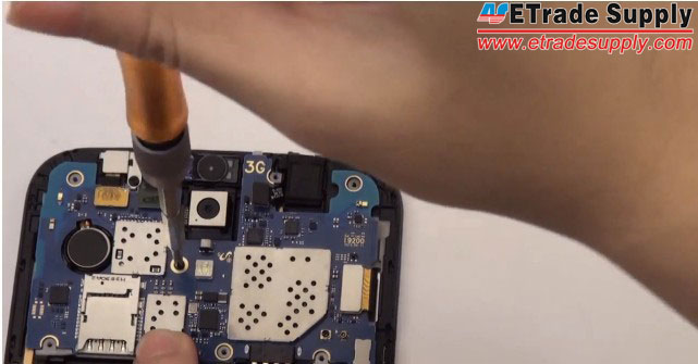Galaxy Mega 6.3 fasten-motherboard