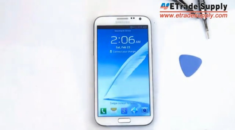 Galaxy Note II reassembly guide