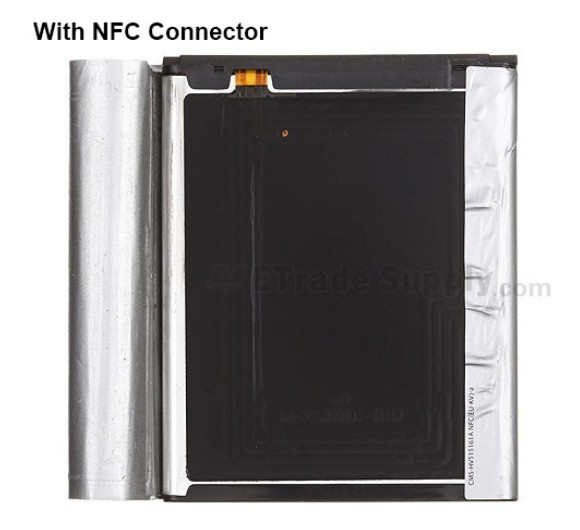 Galaxy S3 battery with NFC connector