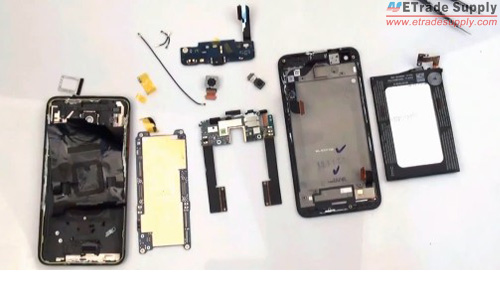 HTC Droid teardown parts