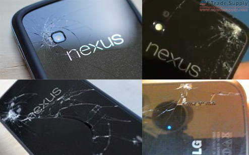 How to replace the cracked battery cover on the Nexus 4