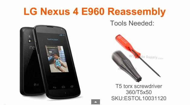 Nexus 4 Tools