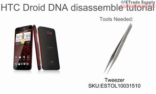 HTC Droid DNA Teardown Tutorial