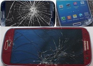 how to repair the cracked Galaxy S4 screen