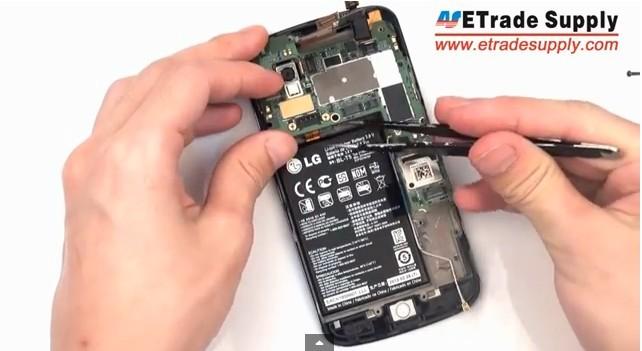install Nexus 4 Motherboard