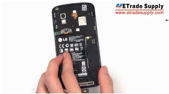 install Nexus 4 Rear Housing