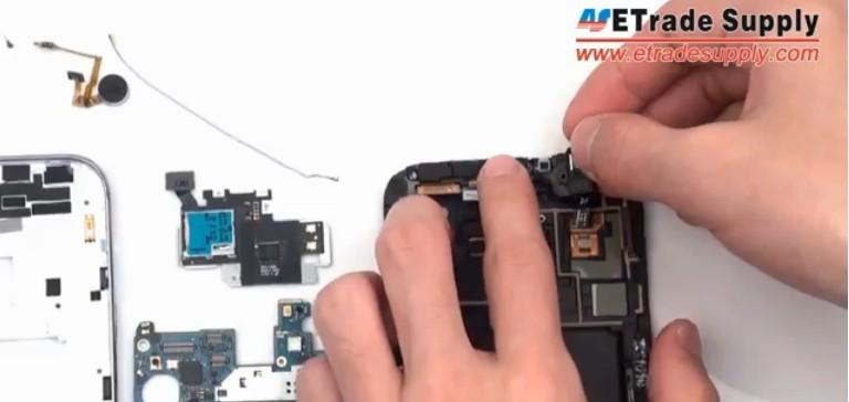 install Samsung earphone part