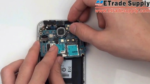 install the galaxy s4 motherboard