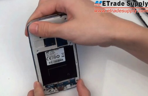 install the galaxy s4 rear housing
