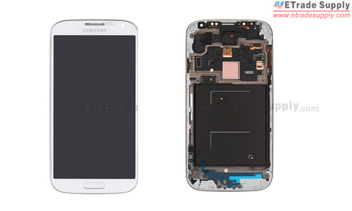 replacement screen display with frame for sgs4 install the vibrating