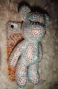 iPhone teddy case