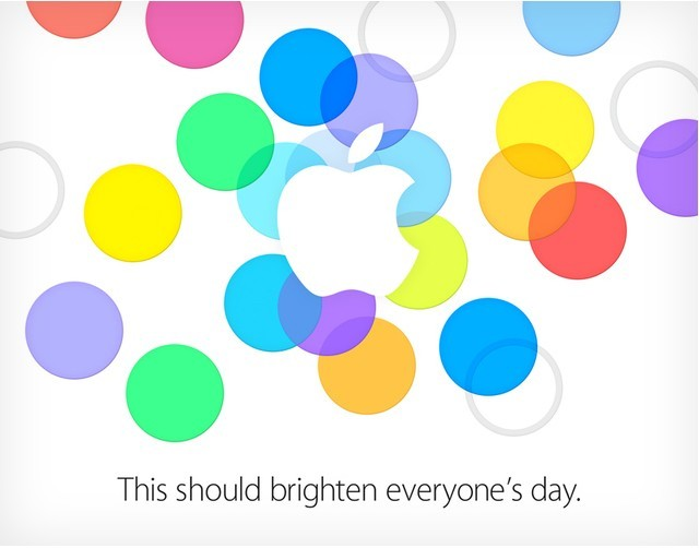Apple invitation for iPhone 5S and 5C