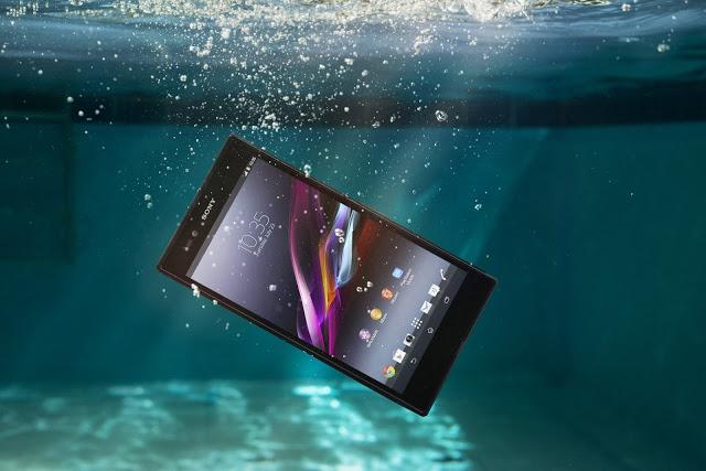 sony xperia z waterproof test video treatment