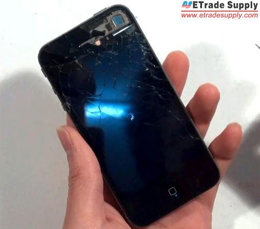 how to take out sim card from iphone 4 how to repair the damaged iphone 4 screen 1510